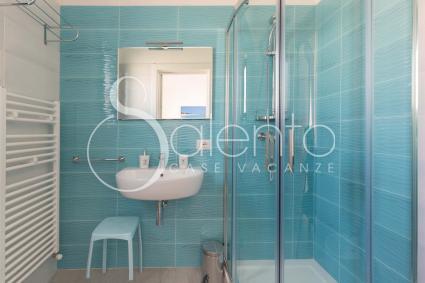 Street VIEW - Il bagno doccia del bed and breakfast